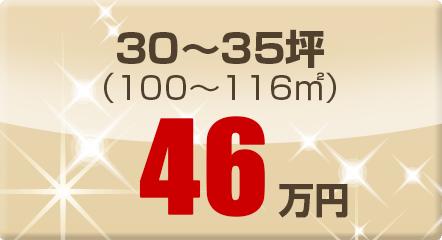 30~35坪(100~116㎡)46万円