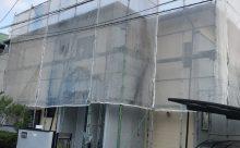 宮崎市Y様邸 塗装工事施工中